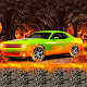Car Racing in Lava