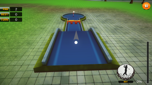 Retro Mini Golf Master Pro - screenshot
