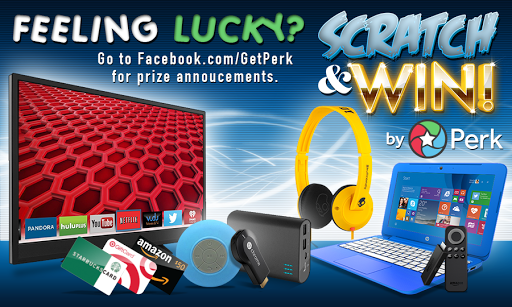 Perk Scratch & Win! Screenshot