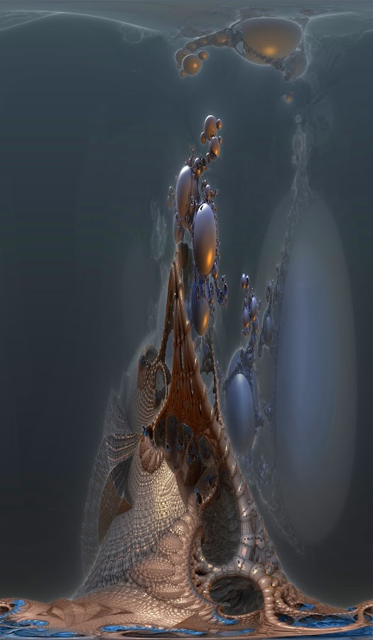 Ghost Tower by Rick Eskridge - Illustration Abstract & Patterns ( abstract, vision, mb3d, fractal, twisted brush )