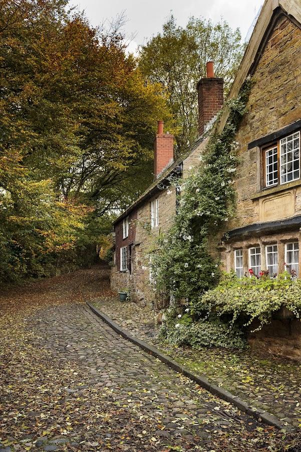 Samuel Crompton's Birthplace by James Johnstone - Buildings & Architecture Public & Historical ( samuel crompton, birthplace, bolton )