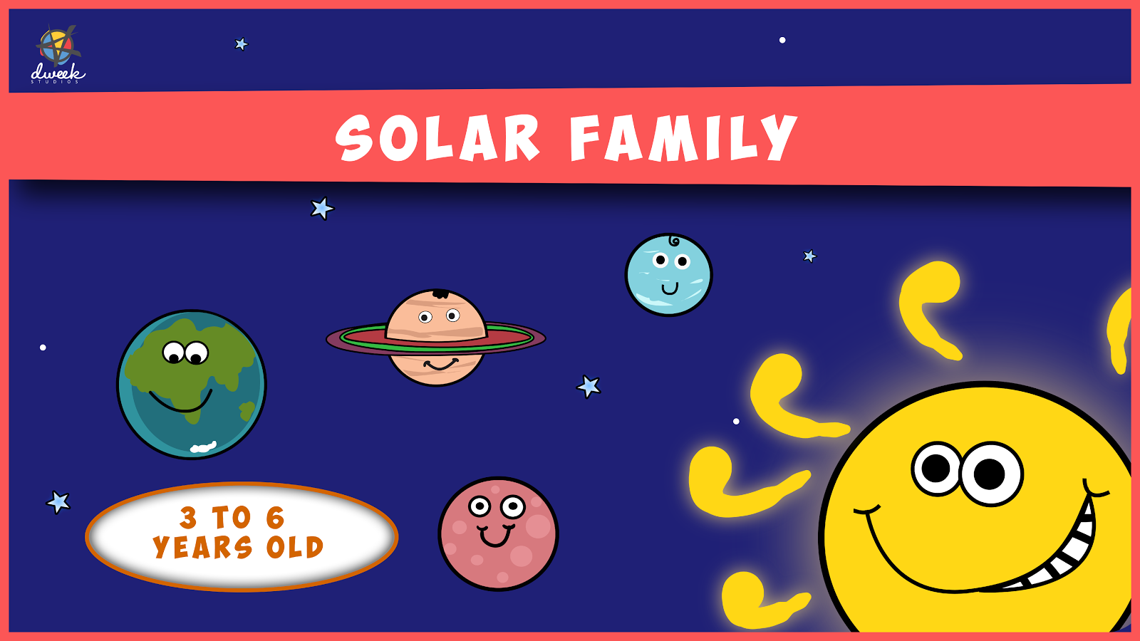 Solar Family - Kids Story Game Screenshot 0