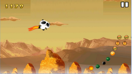 Flying Panda Game - screenshot