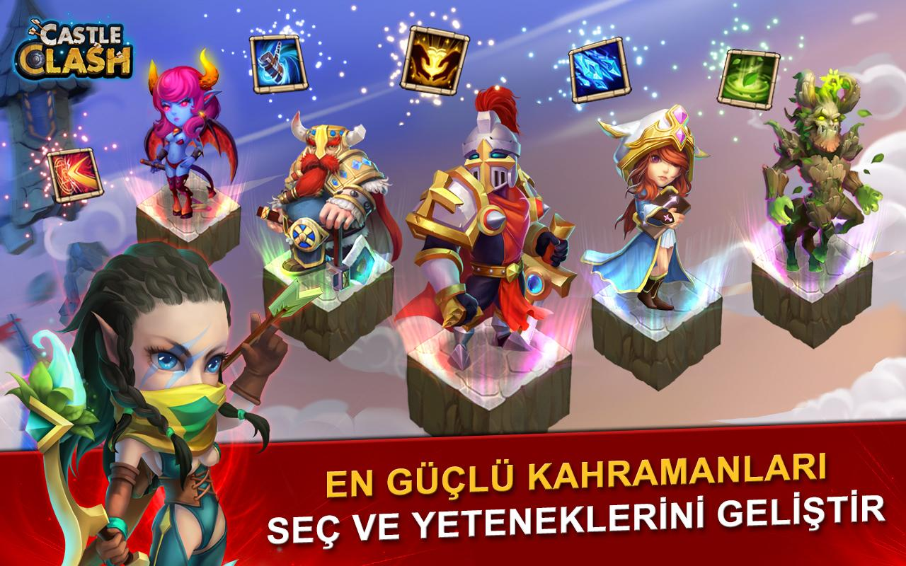Castle Clash: Efsaneler Çağı Screenshot 8
