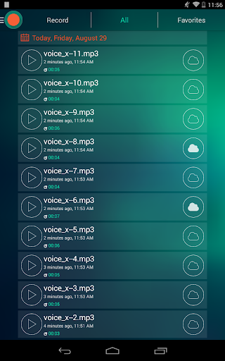 Voice Recorder - Dictaphone screenshot 10