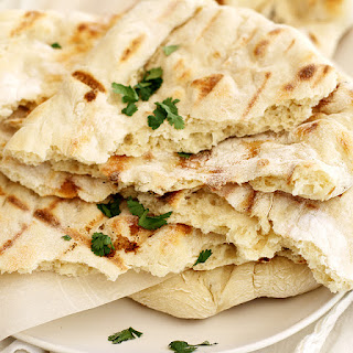 No-Knead Grilled Naan