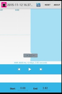 Mp3 cutter maker ringtone - screenshot