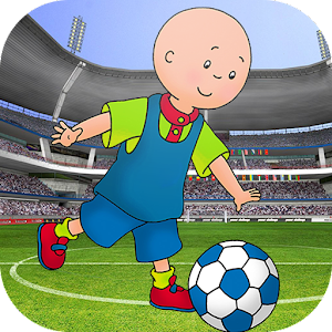 Boy Caillou Soccer Run