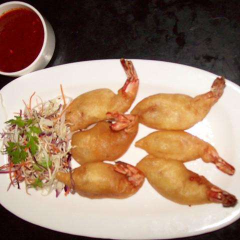 Golden Fried Jumbo Prawn