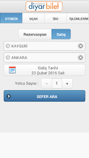 Diyar Bilet - screenshot