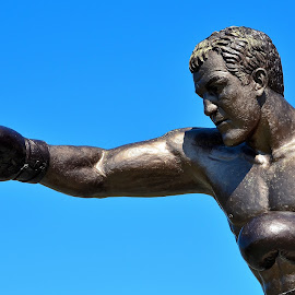 Rocky Marciano, Brockton, Massachusetts by James Maskell - Sports & Fitness Boxing ( statue, marciano, rocky, monument, massachusetts,  )