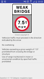UK Road Signs - screenshot