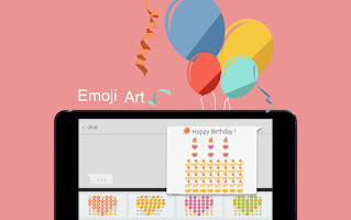 Screenshot of TouchPal - Cute Emoji Keyboard
