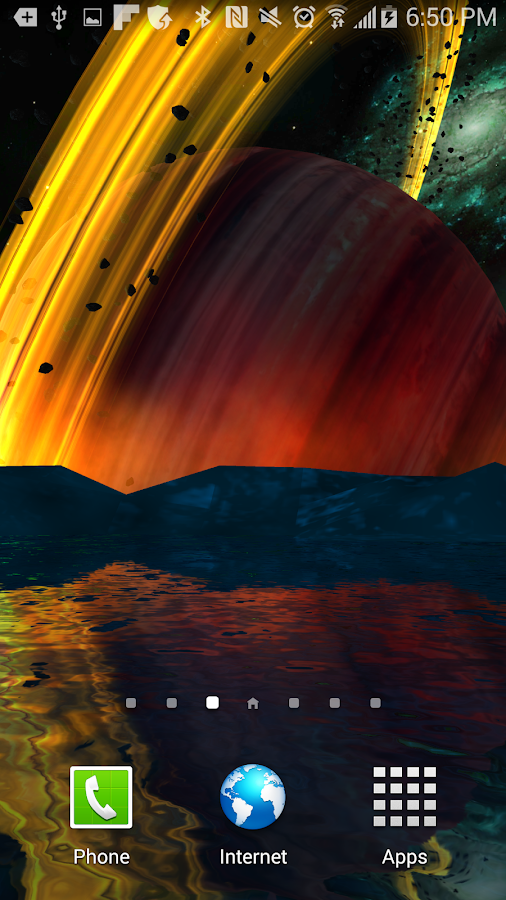 Far Galaxy 3D Live Wallpaper Screenshot 0