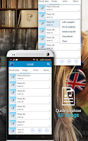 Screenshot of Music Player
