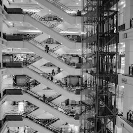 Patterns by Sanjoy Sengupta - Buildings & Architecture Architectural Detail ( #malaysia, #nikon, #nikon middle east, #shopping, #travel, #kualalampur,  )