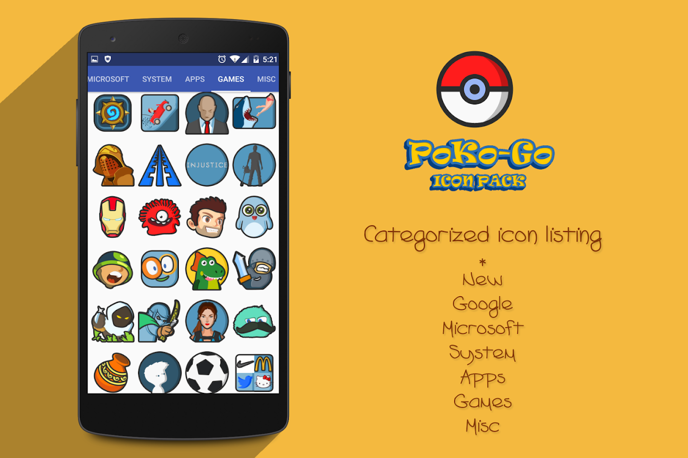 PokoGo Icon Pack Screenshot 8