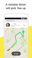 Screenshot of Taxify