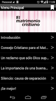 Screenshot of El Matrimonio Cristiano 2.0