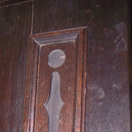 Latch by Sandy Stevens Krassinger - Artistic Objects Furniture ( wood, speaker, lock, artistic object, brass, furniture )
