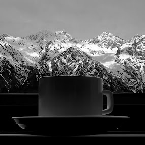 Hot & Cold... by Tanmoy Debnath - Landscapes Mountains & Hills ( auli, still life )