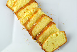 ORANGE POUND CAKE - SOFT AND SPONGE CAKE