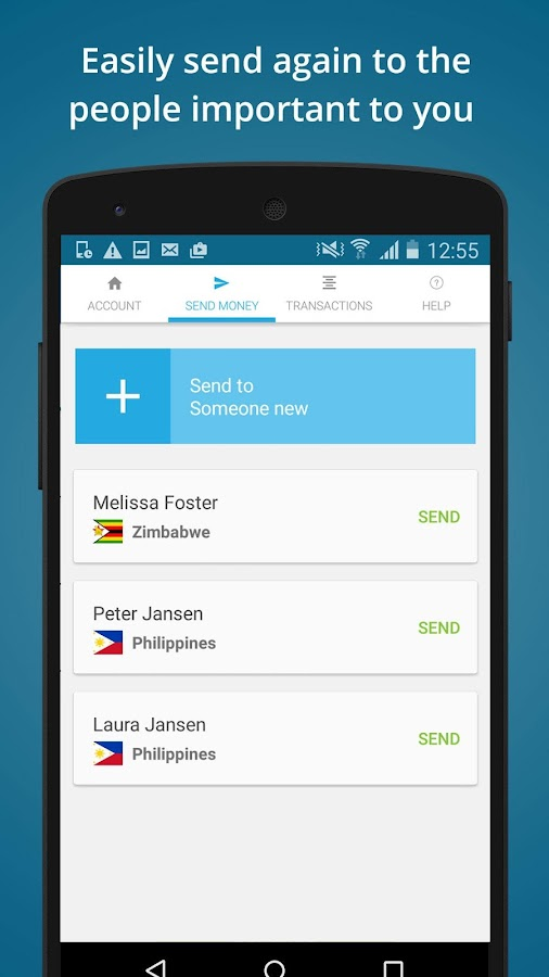 WorldRemit Money Transfer Screenshot 2