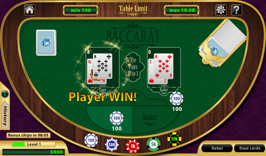 Baccarat - screenshot