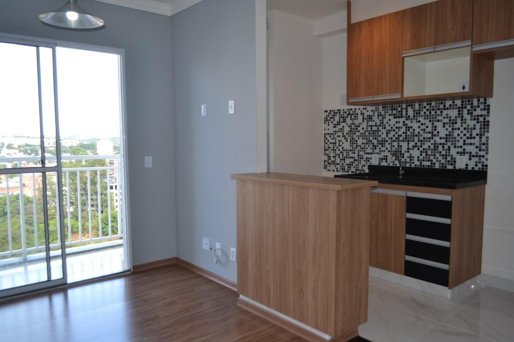 Apartamento com 2 dormitórios para alugar, 47 m² por R$ 1.400,00/mês - Jardim Alto da Boa Vista - Valinhos/SP