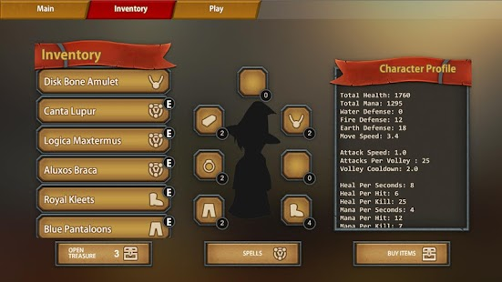 Roguelike Spellslinger- screenshot thumbnail