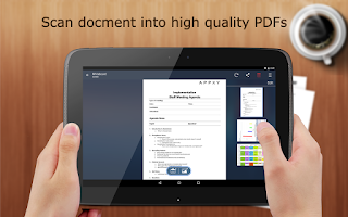 Screenshot of Tiny Scan:PDF Document Scanner