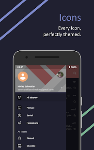 Ethereal für Substratum • Pie, Oreo, Nougat Screenshot