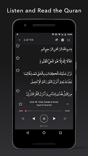 Quran Pro Muslim: MP3 Audio offline & Read Tafsir screenshot 4