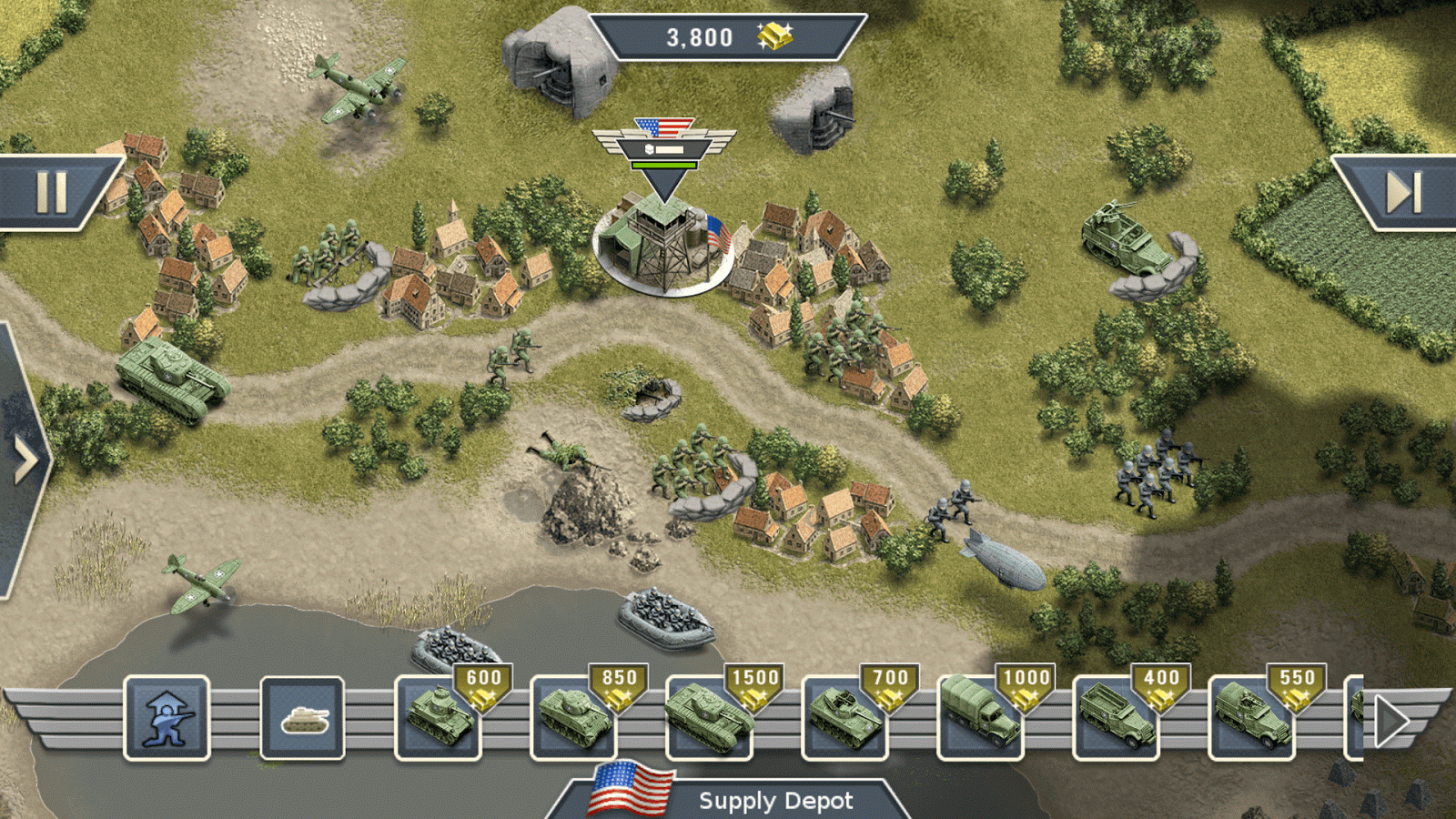 1944 Burning Bridges Premium Screenshot 11
