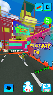train Subway Surf & Road Run for pc