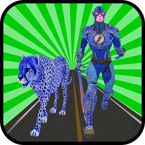 Download free Multi Cheetah Speed hero Vs Wild Animals for PC on Windows and Mac