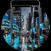 New York City Neon Night Theme: NYC Wallpaper APK for Blackberry