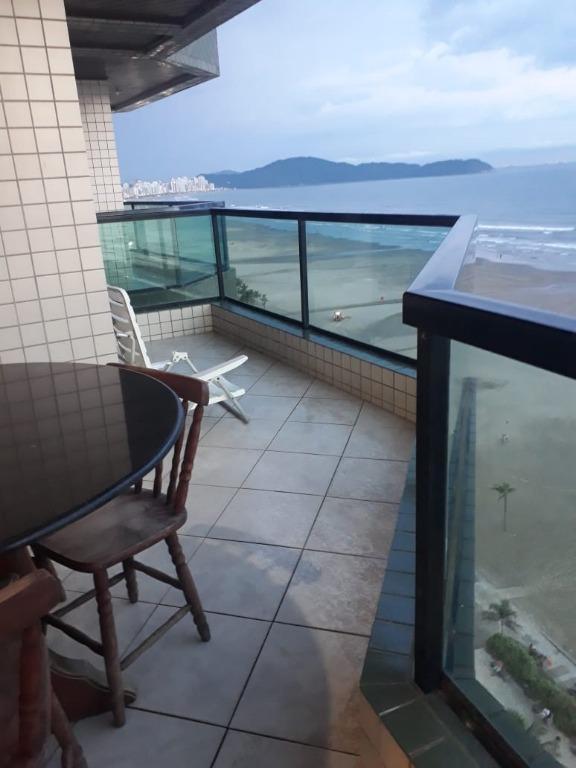 Apartamento com 3 dormitórios à venda, 180 m² por R$ 750.000 -  Praia Grande/SP