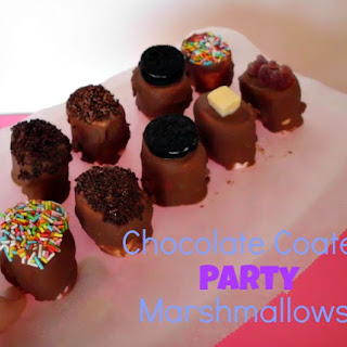 Chocolate Coated Party Marshmallows