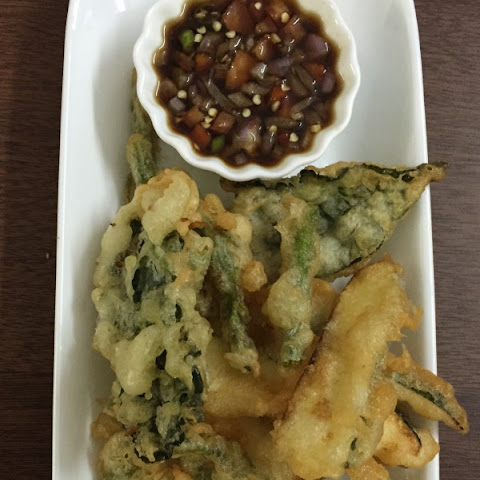 My easy crispy Tempura battered Vegetables