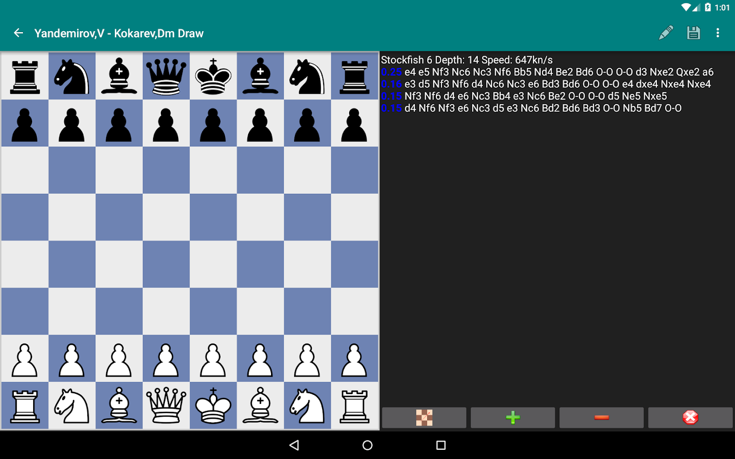 Perfect Chess Database Screenshot 10