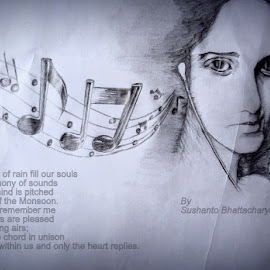 Cover design for my selected works.. by Sushanto Bhattacharya - Drawing All Drawing