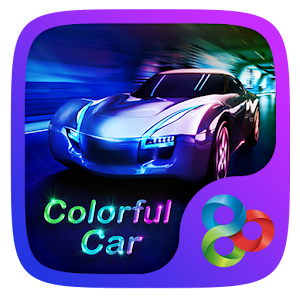 Colorful Car GO Launcher Theme