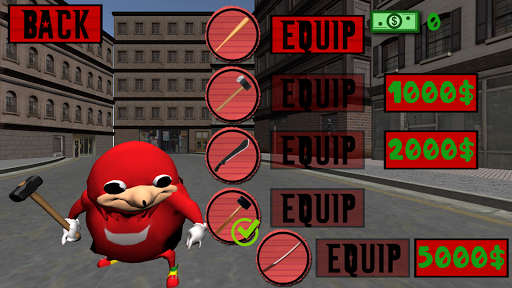 Ugandan Knuckles Simulator. Meme Salvation 3D For PC