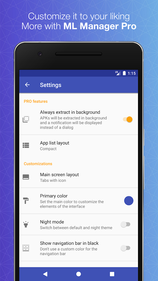 ML Manager Pro: APK Extractor Screenshot 7