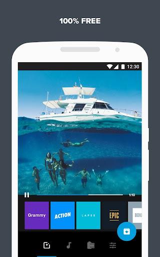 Quik – Free Video Editor for photos, clips, music screenshot 5