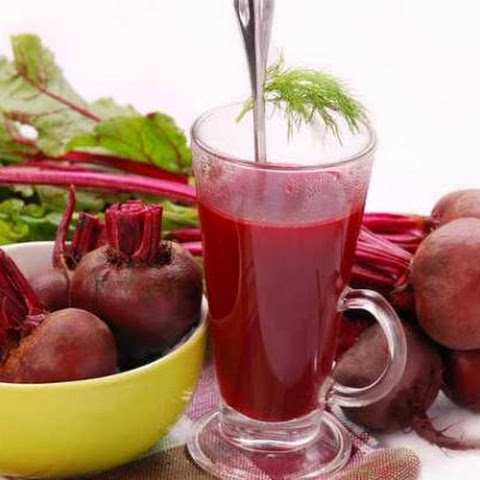 Vegetable Fresh Juice With Beetroot