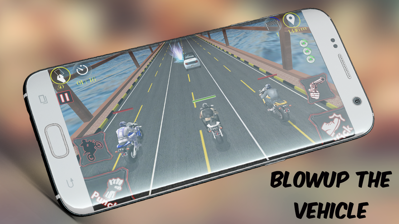 Bike Race Fighter (PRO) No Ads Screenshot 3