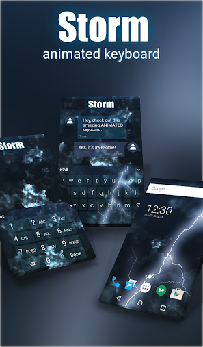 Storm Animated Keyboard APK