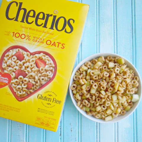 Cheerios and Apples Snack = eBoxTops